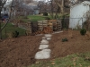 Path to Compost Bins